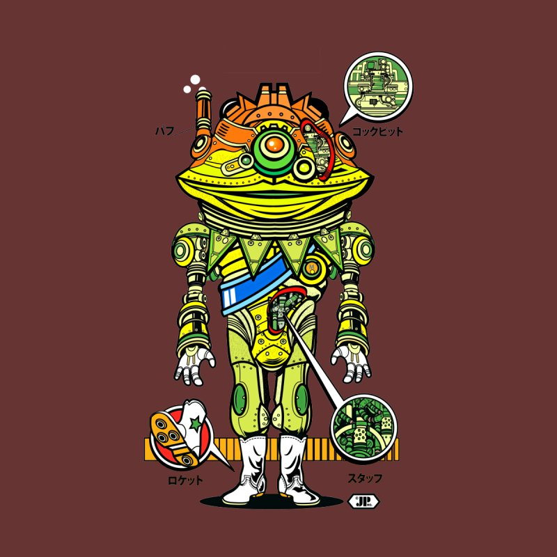 Mecha Puff N' Stuff Men's T-Shirt by Jesse Philips' Artist Shop