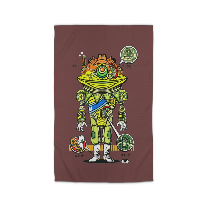 Mecha Puff N' Stuff Home Rug by Jesse Philips' Artist Shop