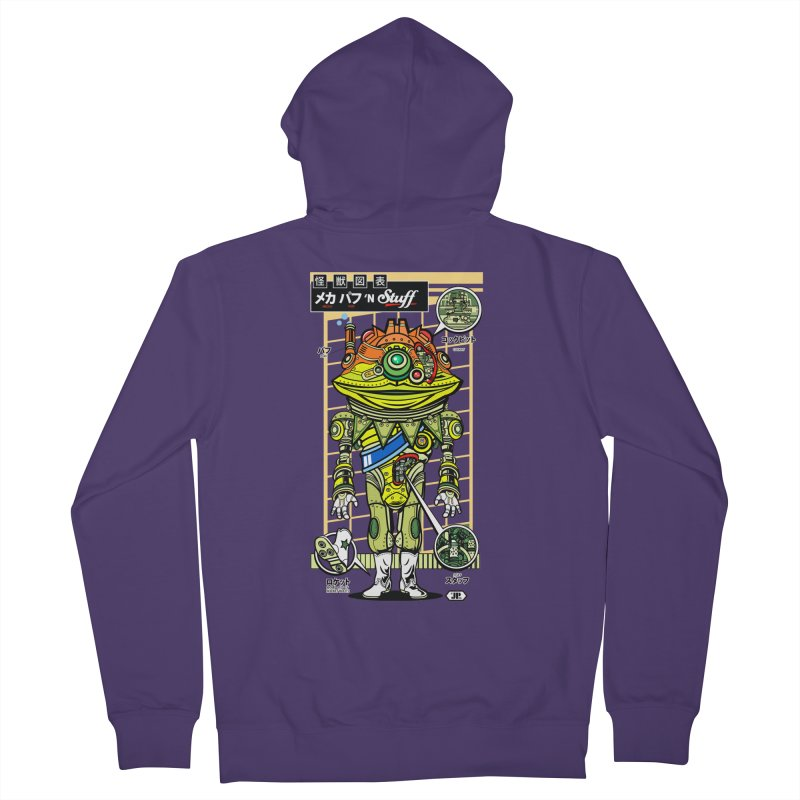 Mecha Puff N' Stuff Women's Zip-Up Hoody by Jesse Philips' Artist Shop