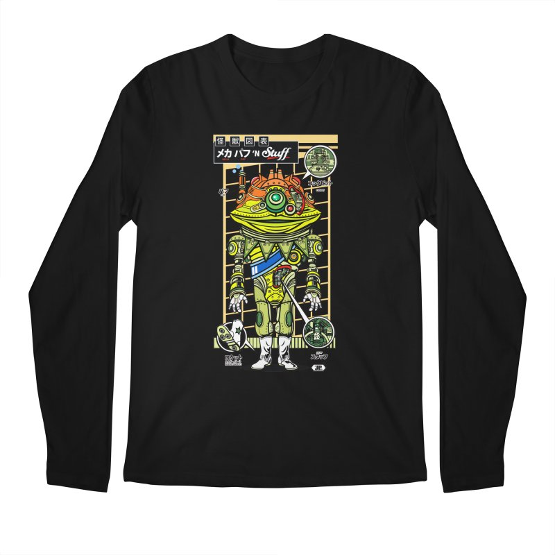 Mecha Puff N' Stuff Men's Longsleeve T-Shirt by Jesse Philips' Artist Shop