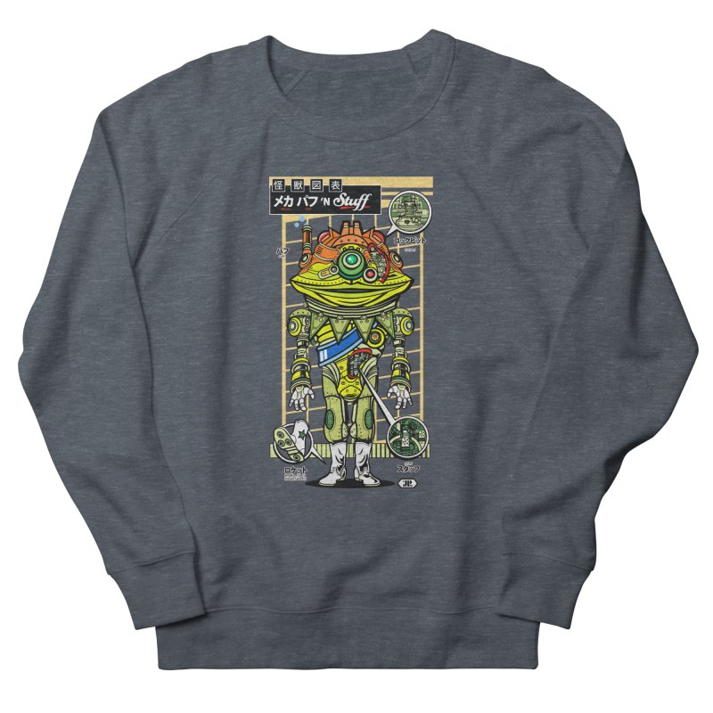 Mecha Puff N' Stuff Men's Sweatshirt by Jesse Philips' Artist Shop