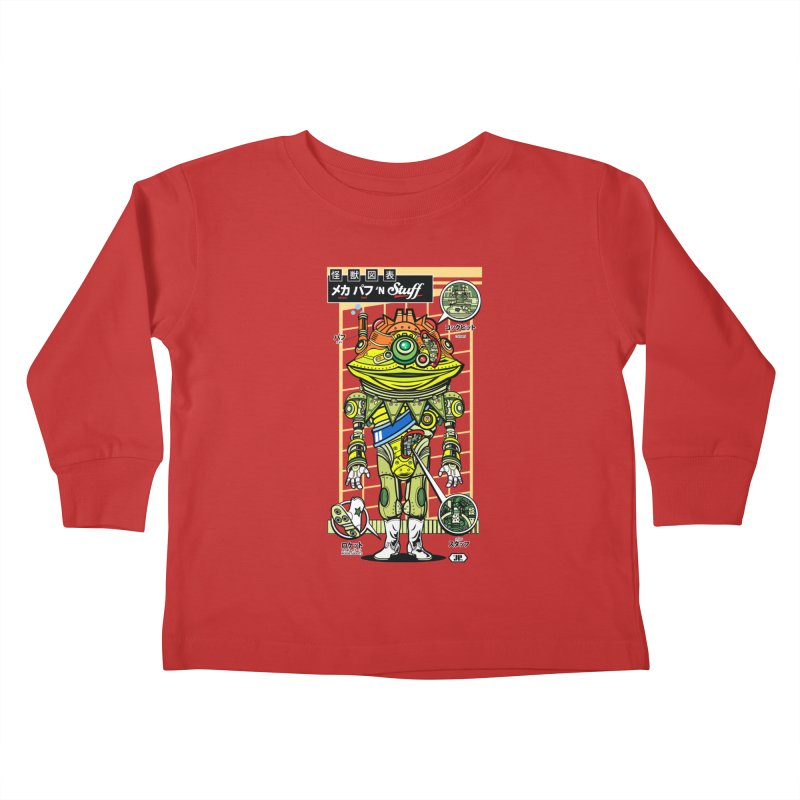Mecha Puff N' Stuff Kids Toddler Longsleeve T-Shirt by Jesse Philips' Artist Shop
