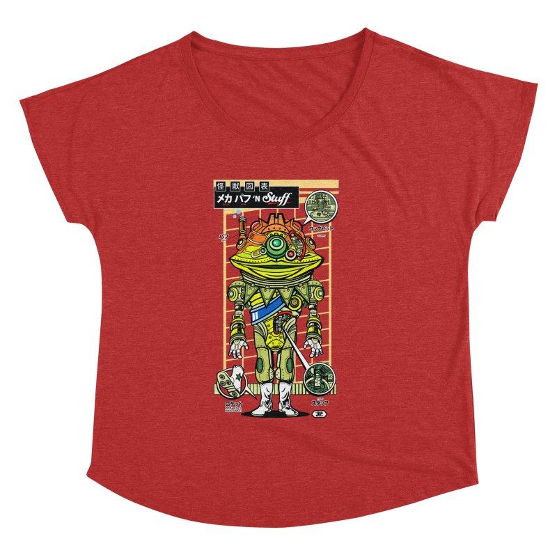 Mecha Puff N' Stuff Women's Dolman by Jesse Philips' Artist Shop
