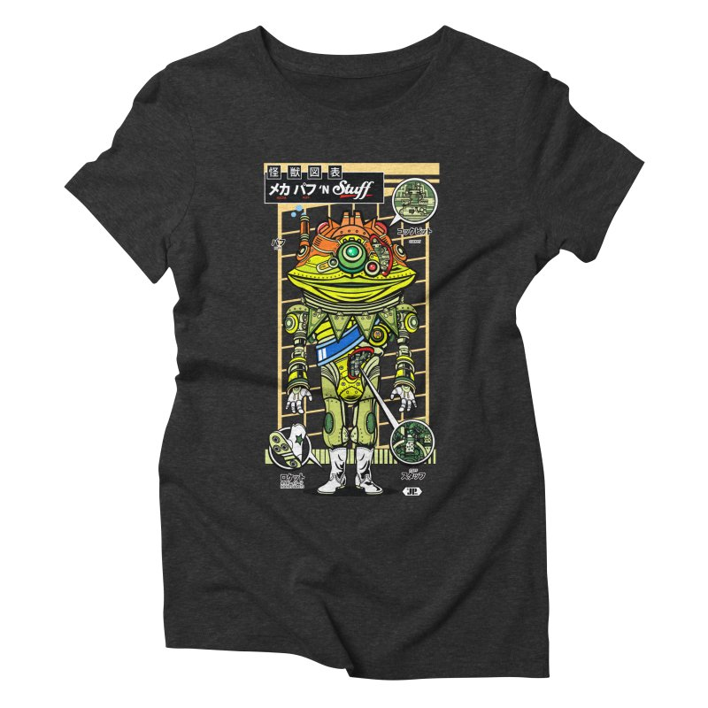 Mecha Puff N' Stuff Women's Triblend T-shirt by Jesse Philips' Artist Shop
