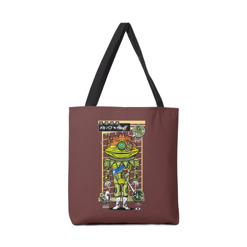 Mecha Puff N' Stuff Accessories Bag by Jesse Philips' Artist Shop