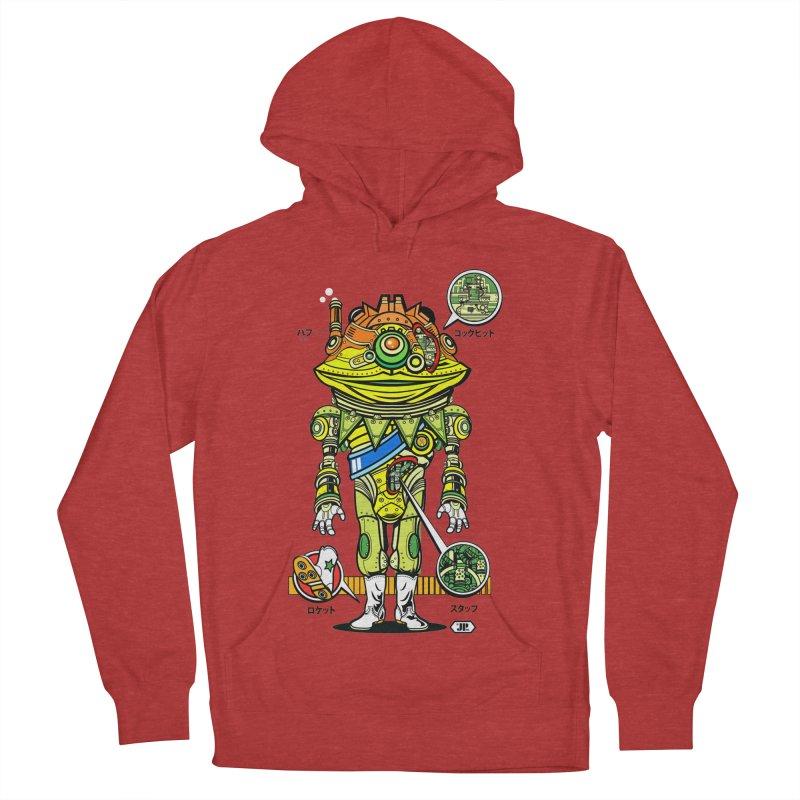 Mecha Puff N' Stuff Men's Pullover Hoody by Jesse Philips' Artist Shop