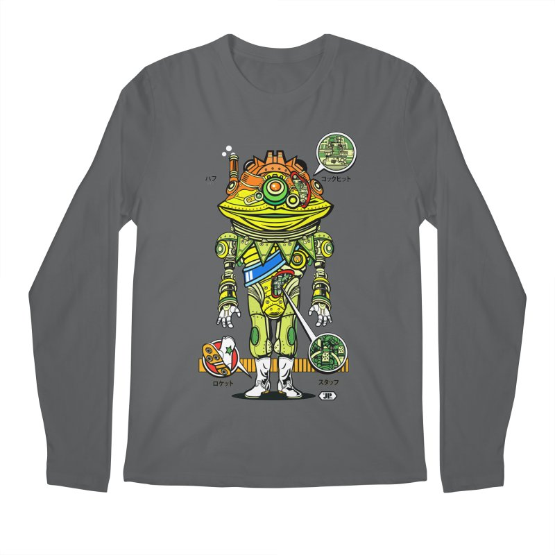 Mecha Puff N' Stuff Men's Regular Longsleeve T-Shirt by Jesse Philips' Artist Shop