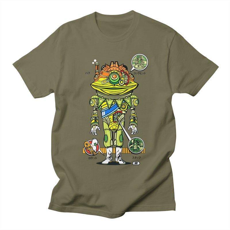 Mecha Puff N' Stuff Women's Regular Unisex T-Shirt by Jesse Philips' Artist Shop