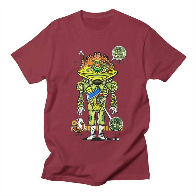 Mecha Puff N' Stuff Men's T-Shirt by Jesse Philips' Artist Shop
