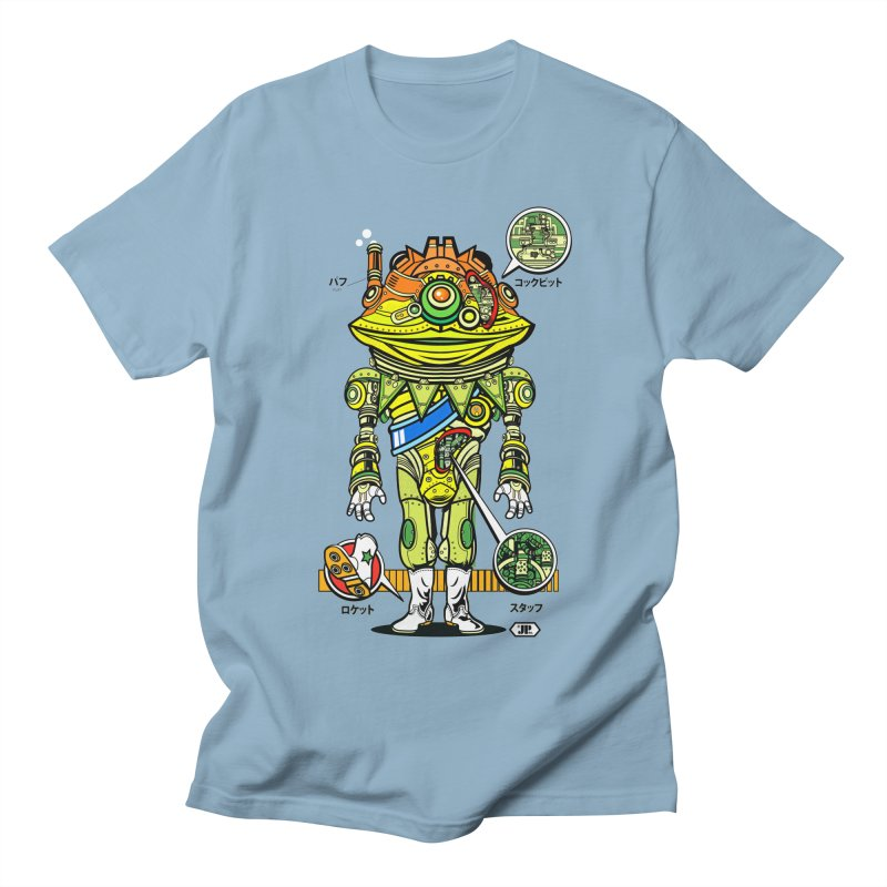 Mecha Puff N' Stuff Men's Regular T-Shirt by Jesse Philips' Artist Shop