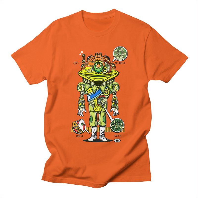 Mecha Puff N' Stuff Men's Regular T-Shirt by Jesse Philips' Artist Shop
