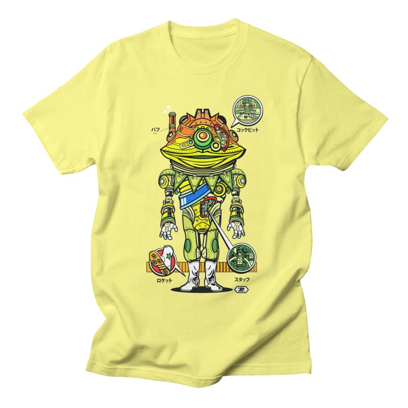 Mecha Puff N' Stuff Women's Regular Unisex T-Shirt by Jesse Philips' Artist Shop