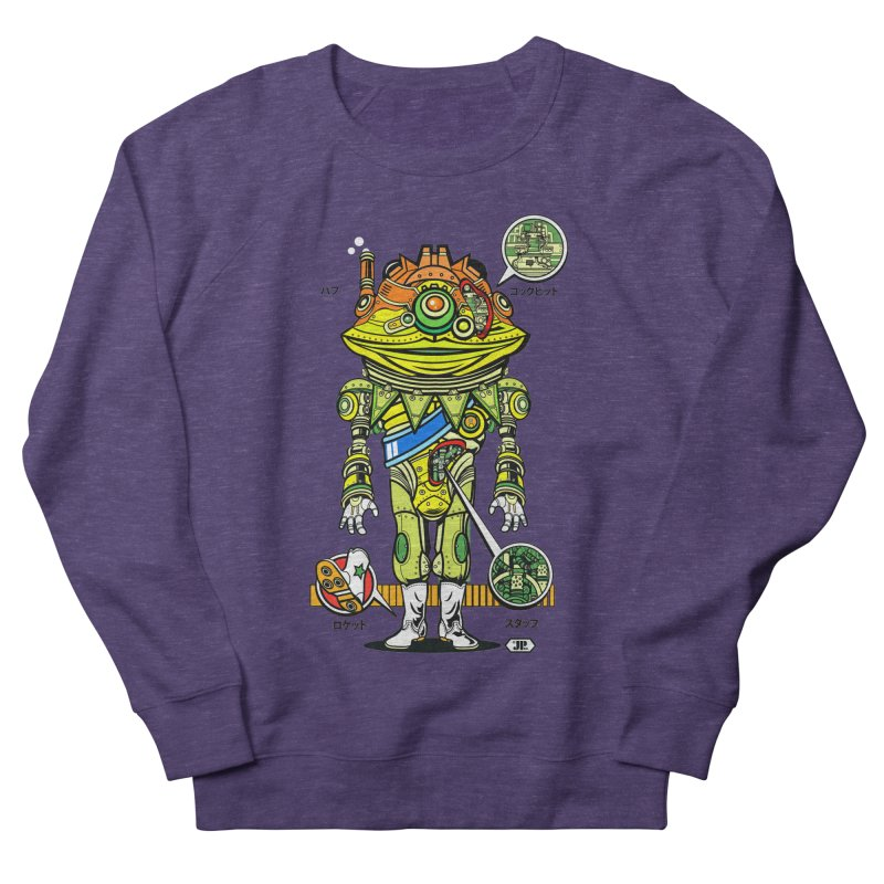 Mecha Puff N' Stuff Women's French Terry Sweatshirt by Jesse Philips' Artist Shop