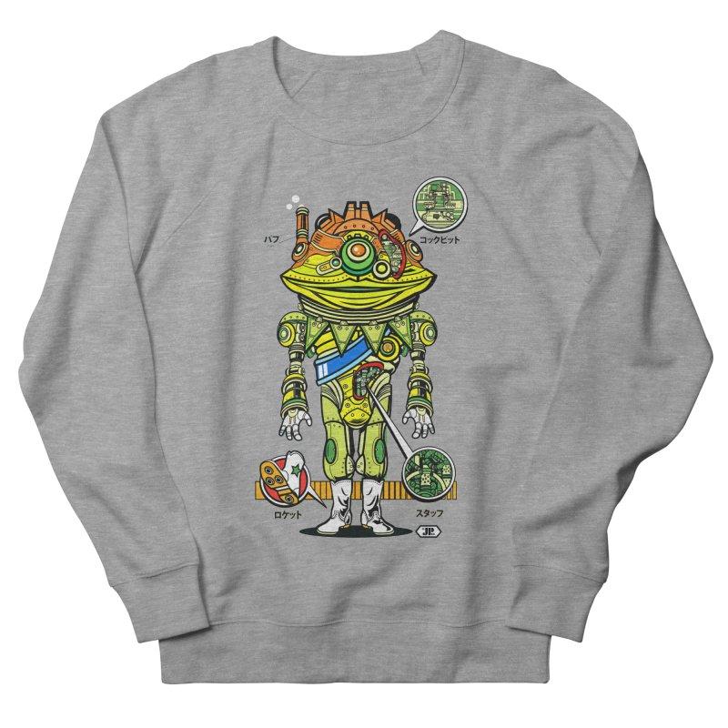 Mecha Puff N' Stuff Men's Sweatshirt by Jesse Philips' Artist Shop