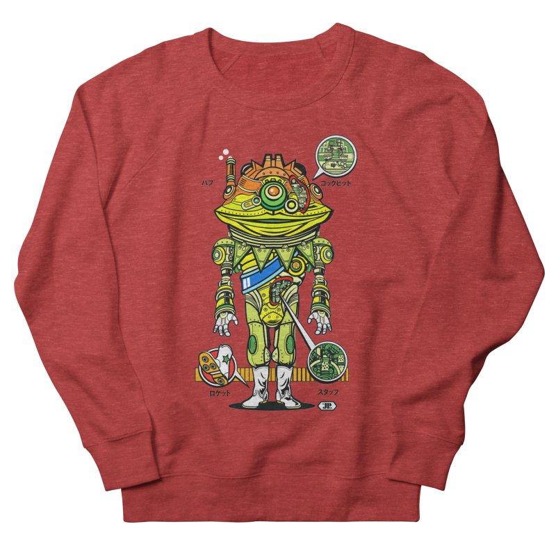 Mecha Puff N' Stuff Men's French Terry Sweatshirt by Jesse Philips' Artist Shop
