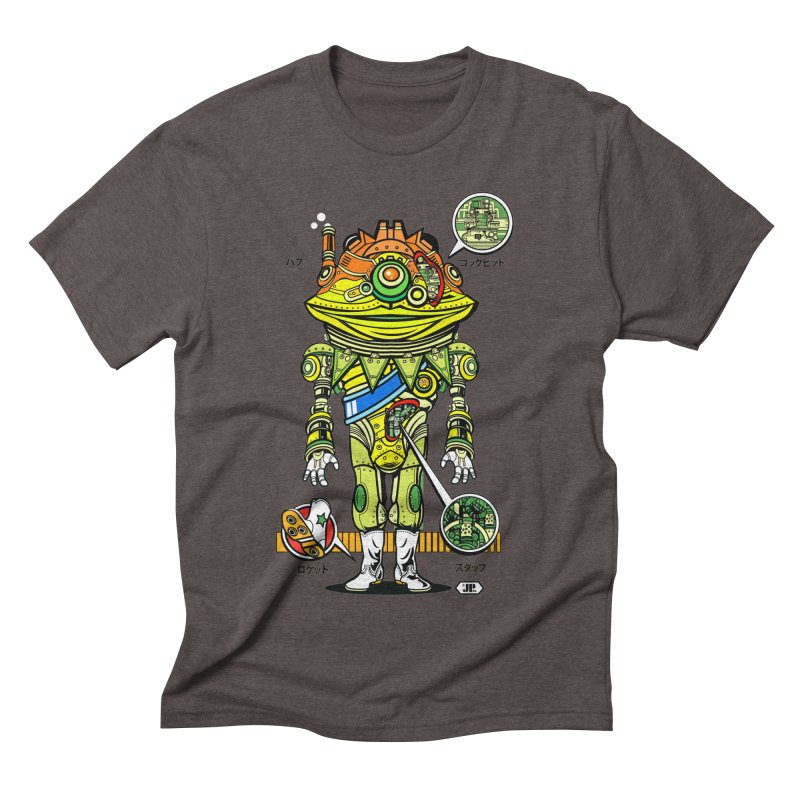 Mecha Puff N' Stuff Men's Triblend T-Shirt by Jesse Philips' Artist Shop