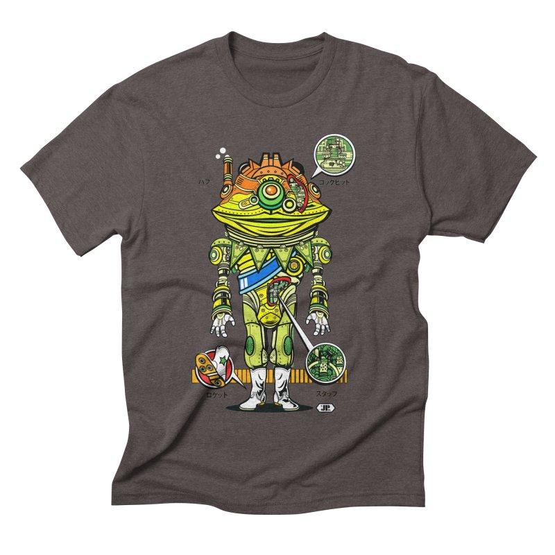 Mecha Puff N' Stuff Men's Triblend T-Shirt by Jesse Philips' Artist Shop