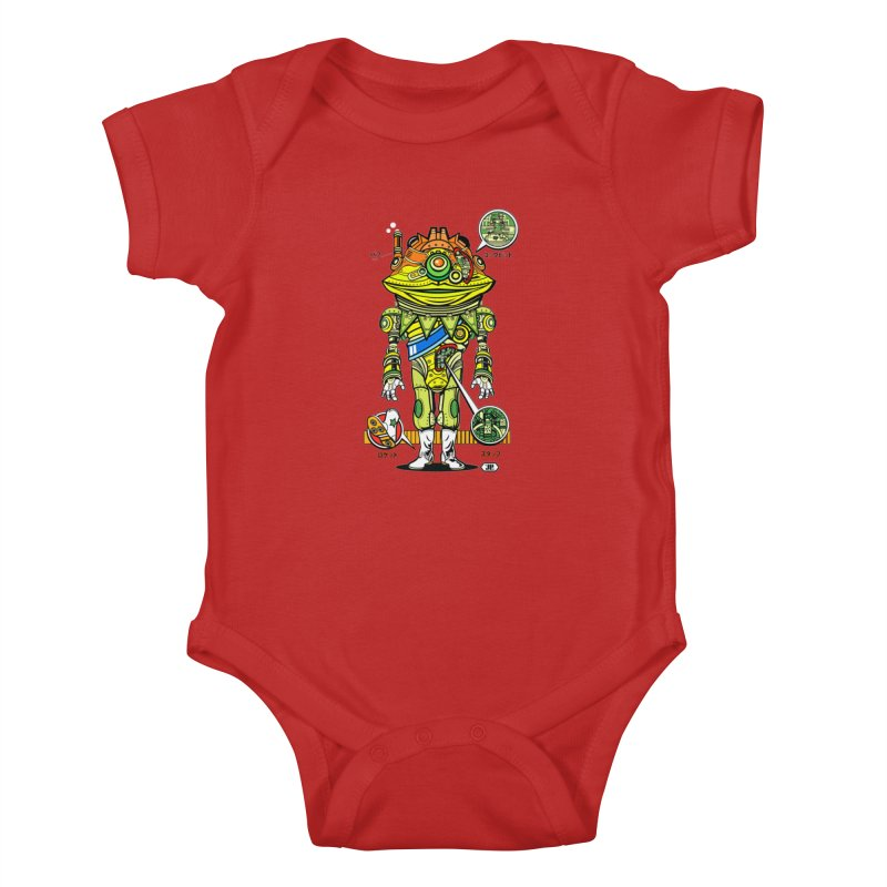 Mecha Puff N' Stuff Kids Baby Bodysuit by Jesse Philips' Artist Shop