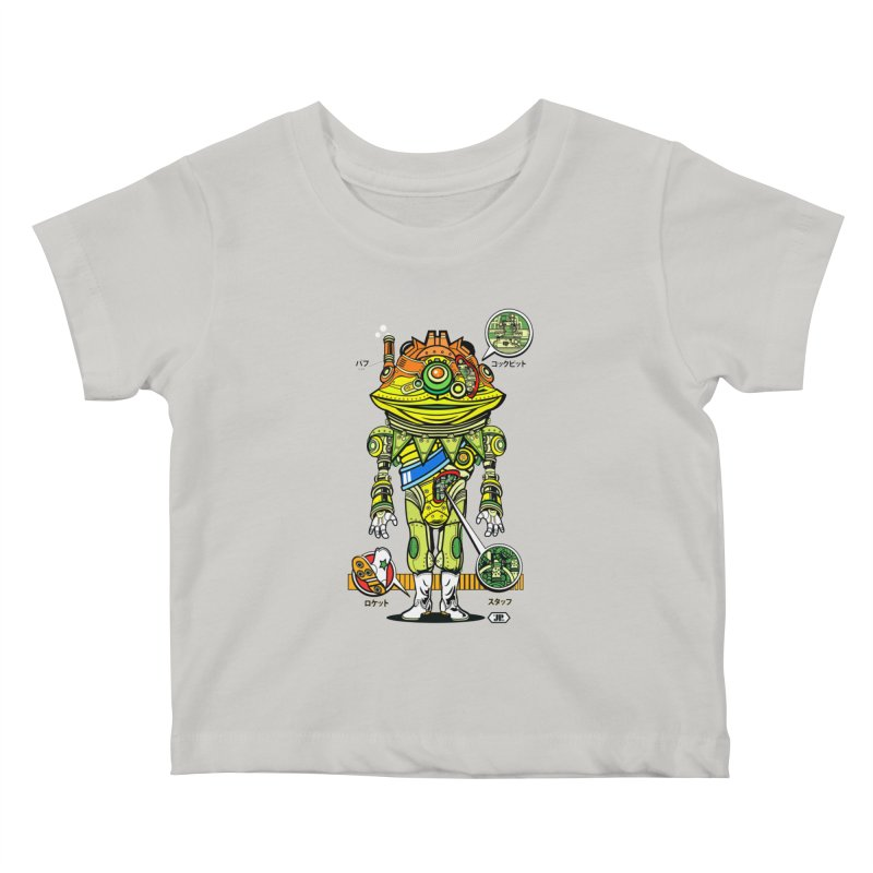 Mecha Puff N' Stuff Kids Baby T-Shirt by Jesse Philips' Artist Shop