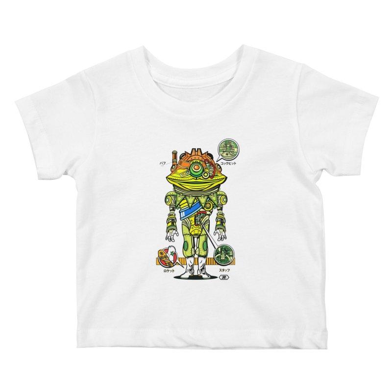 Mecha Puff N' Stuff Kids Baby T-Shirt by Jesse Philips' Artist Shop
