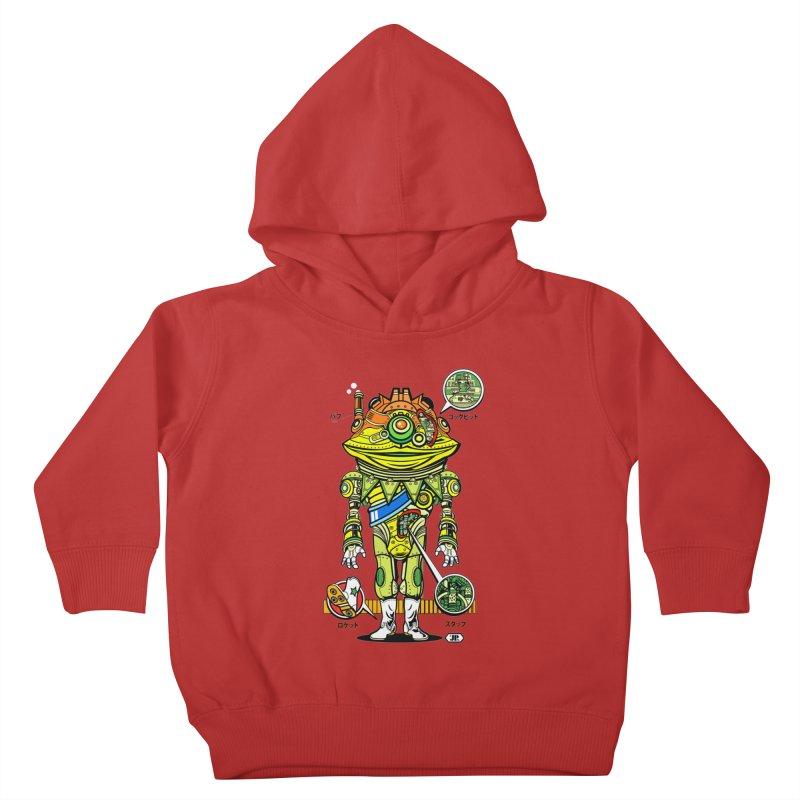 Mecha Puff N' Stuff Kids Toddler Pullover Hoody by Jesse Philips' Artist Shop