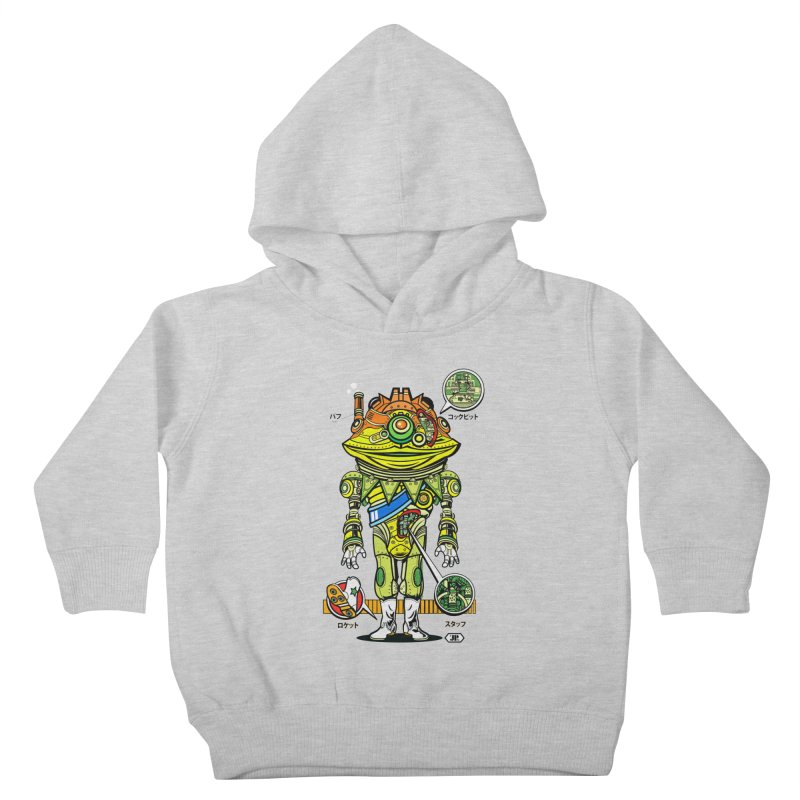 Mecha Puff N' Stuff Kids Toddler Pullover Hoody by Jesse Philips' Artist Shop