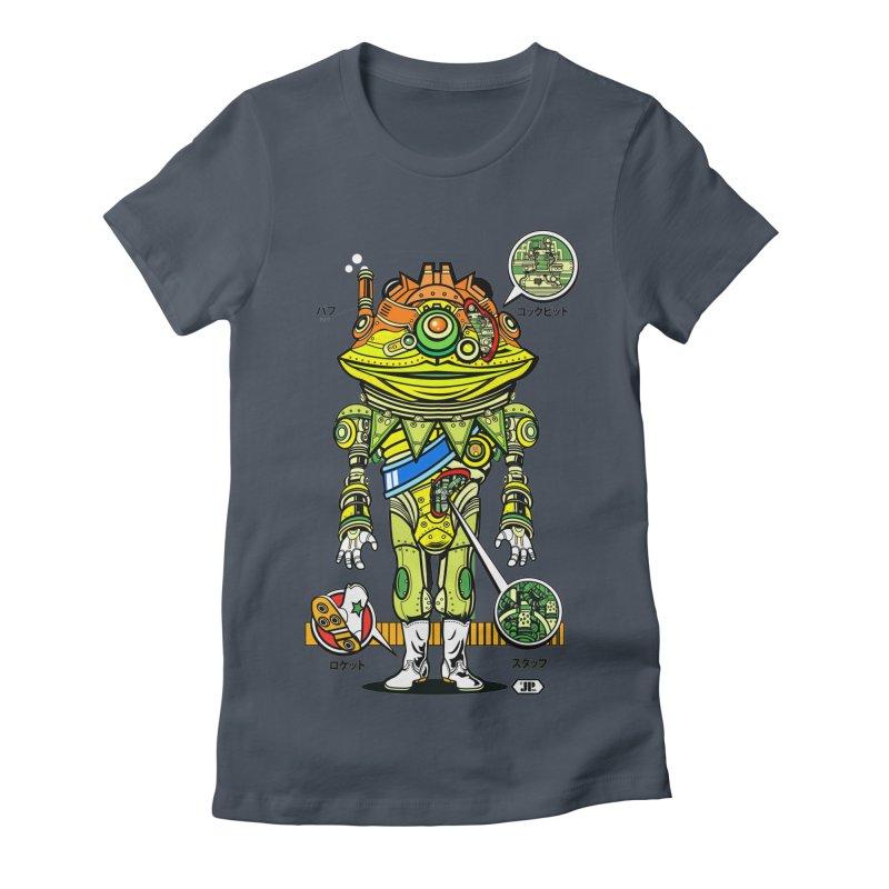 Mecha Puff N' Stuff Women's T-Shirt by Jesse Philips' Artist Shop