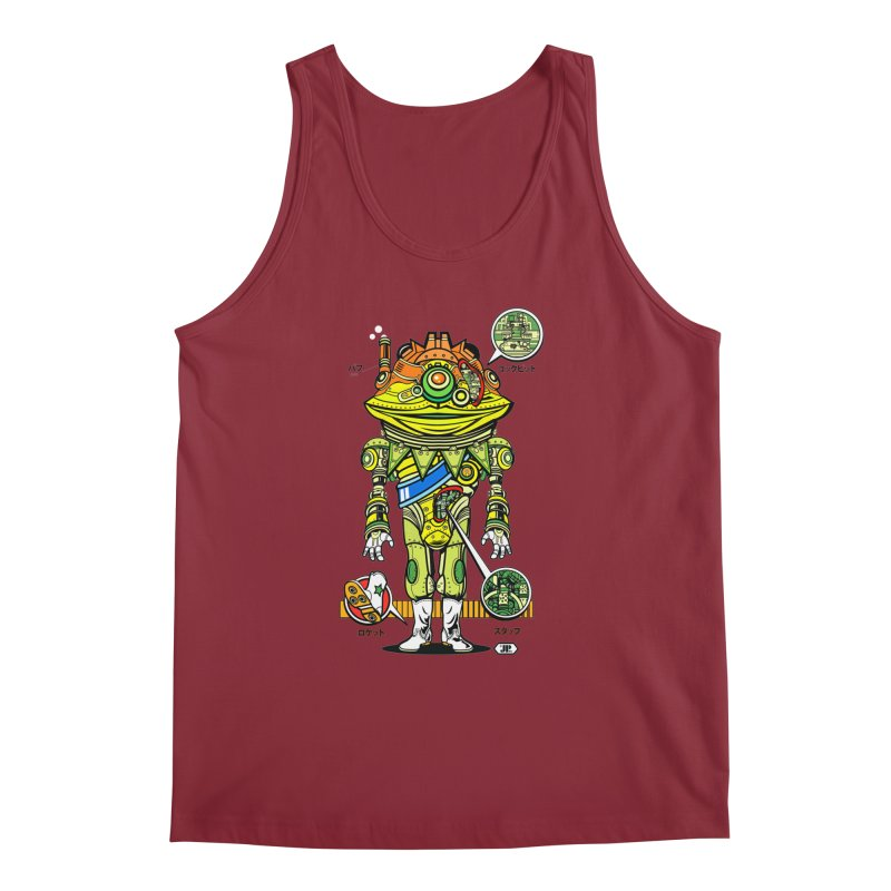 Mecha Puff N' Stuff Men's Regular Tank by Jesse Philips' Artist Shop