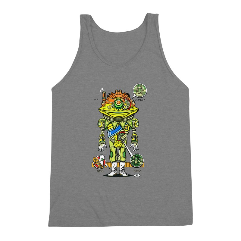 Mecha Puff N' Stuff Men's Triblend Tank by Jesse Philips' Artist Shop