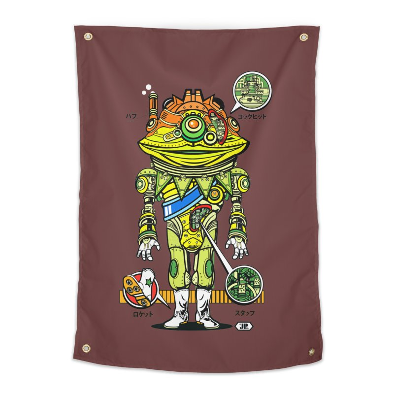 Mecha Puff N' Stuff Home Tapestry by Jesse Philips' Artist Shop
