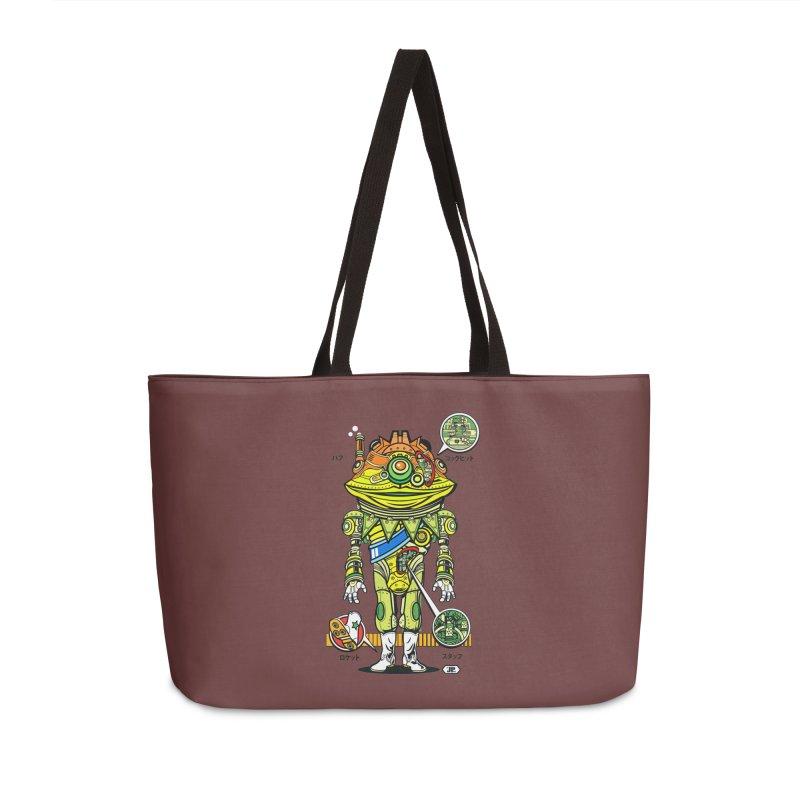 Mecha Puff N' Stuff Accessories Bag by Jesse Philips' Artist Shop