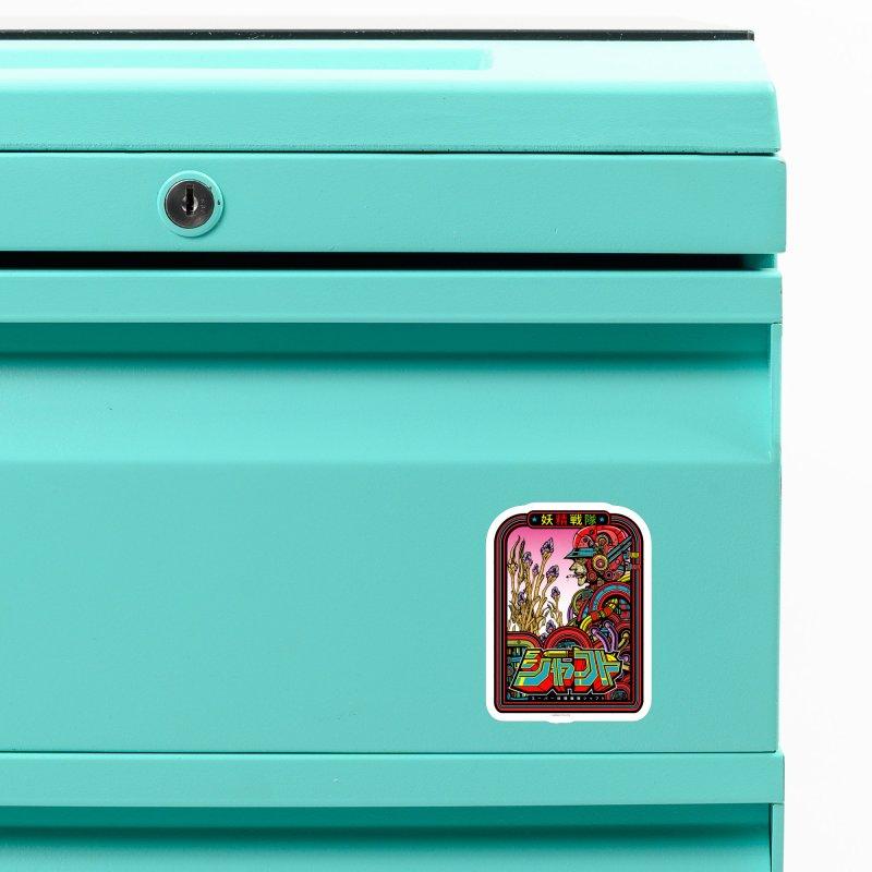 妖精戦隊 Fairy Squadron Accessories Magnet by Jesse Philips' Artist Shop