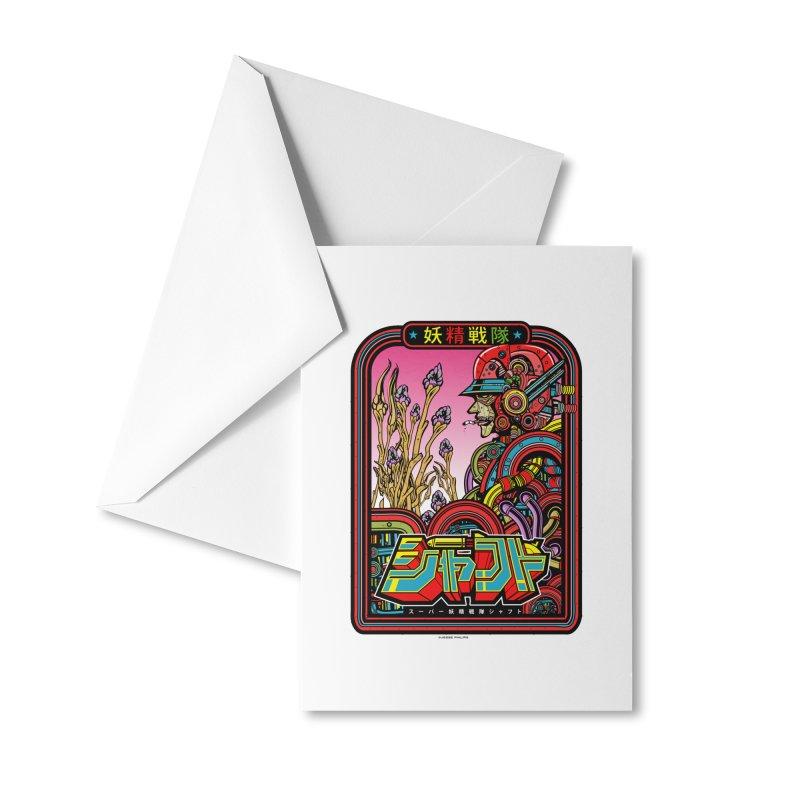 妖精戦隊 Fairy Squadron Accessories Greeting Card by Jesse Philips' Artist Shop