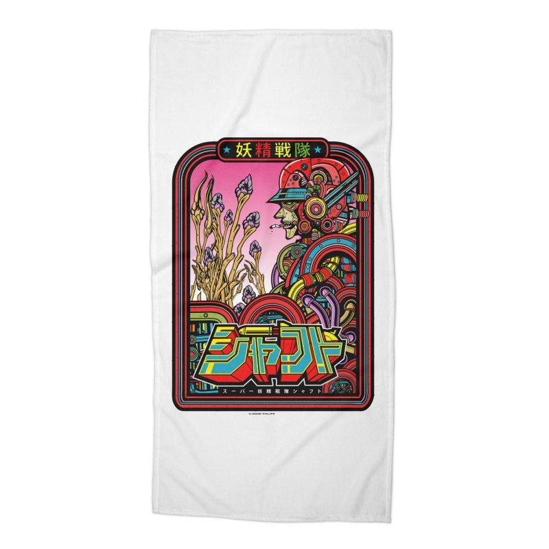 妖精戦隊 Fairy Squadron Accessories Beach Towel by Jesse Philips' Artist Shop