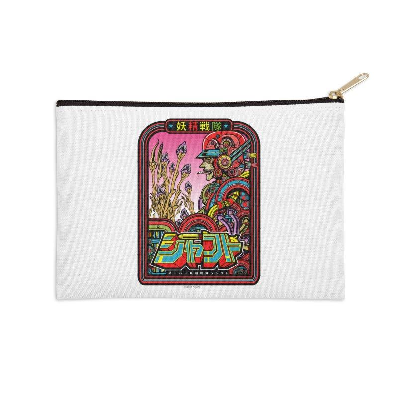 妖精戦隊 Fairy Squadron Accessories Zip Pouch by Jesse Philips' Artist Shop