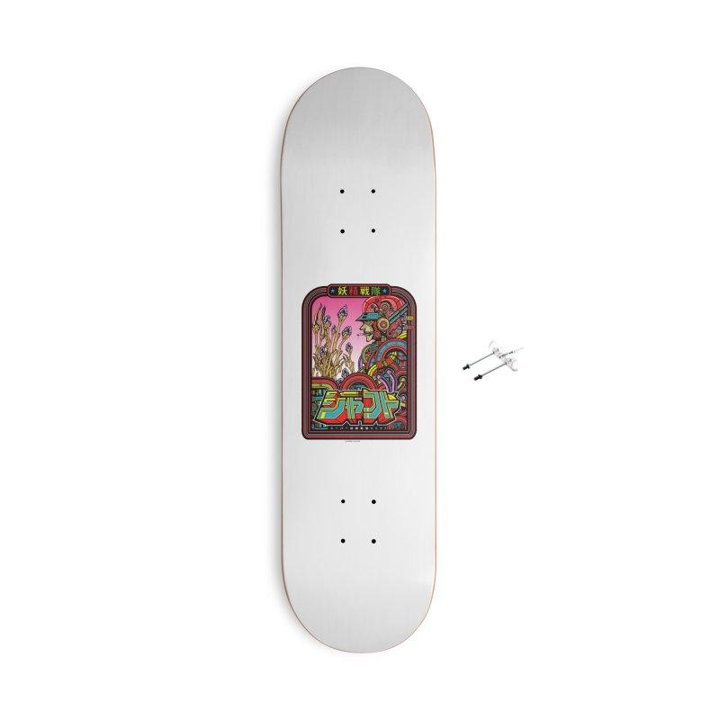 妖精戦隊 Fairy Squadron Accessories Skateboard by Jesse Philips' Artist Shop