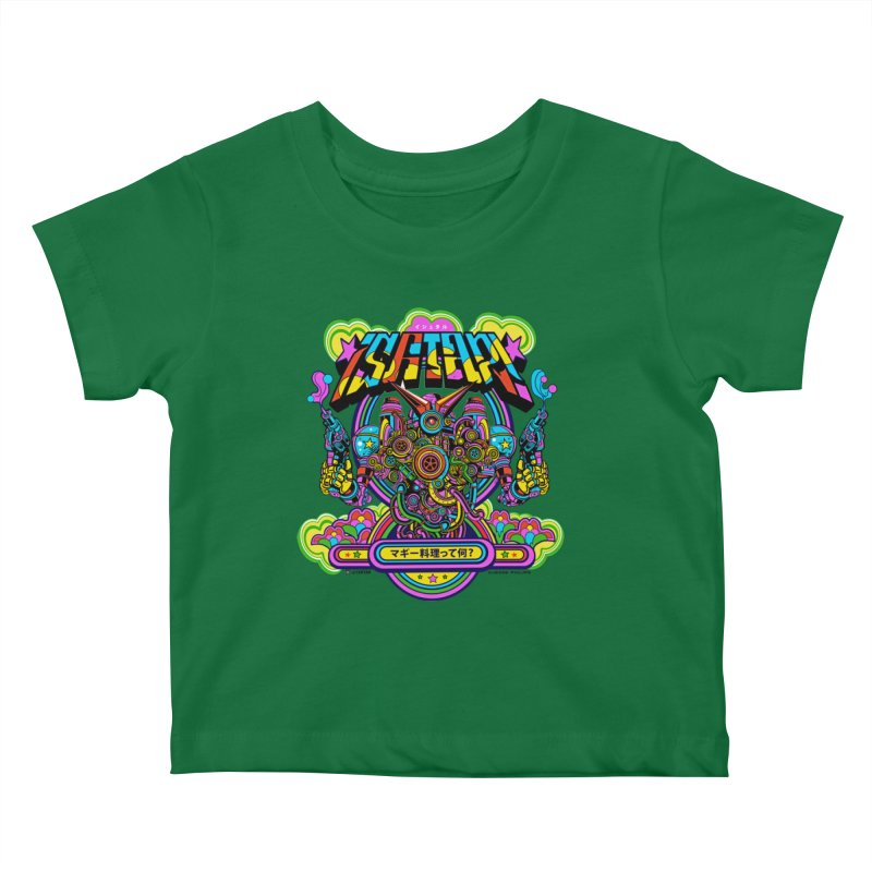 What's Cookin'? Kids Baby T-Shirt by Jesse Philips' Artist Shop