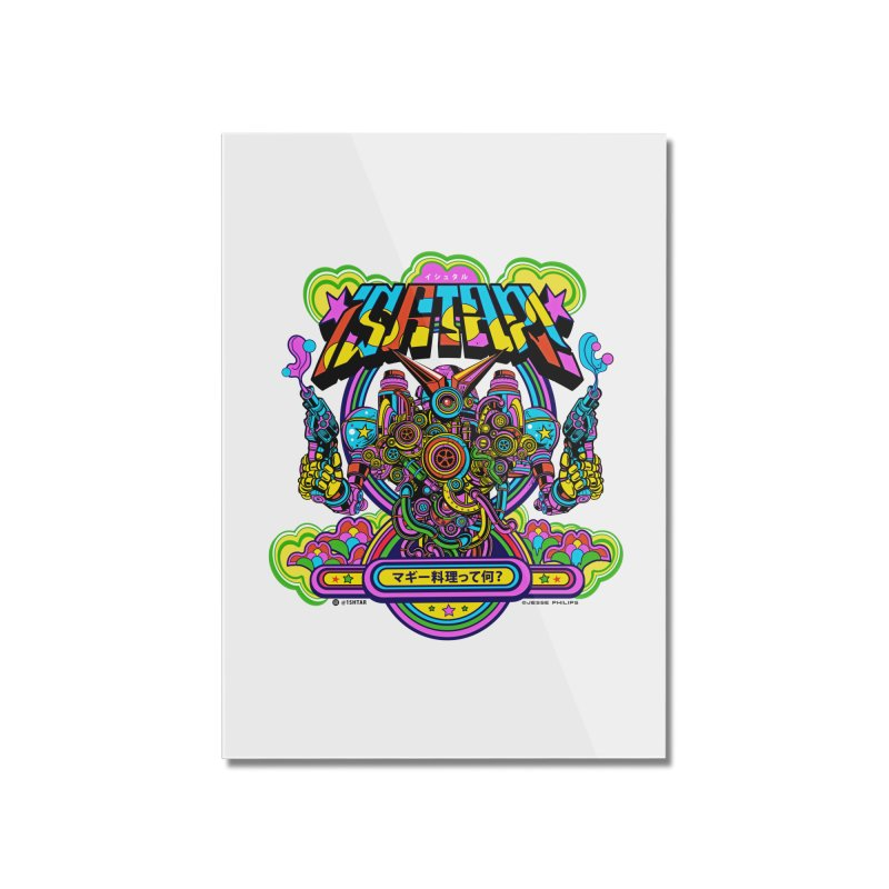 What's Cookin'? Home Mounted Acrylic Print by Jesse Philips' Artist Shop