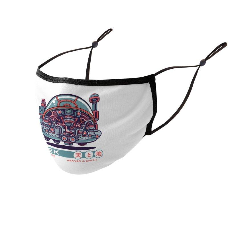 Mayan Zodiac- SEK Accessories Face Mask by Jesse Philips' Artist Shop