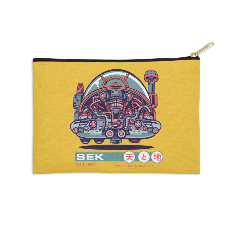 Mayan Zodiac- SEK Accessories Zip Pouch by Jesse Philips' Artist Shop
