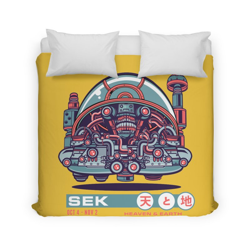 Mayan Zodiac- SEK Home Duvet by Jesse Philips' Artist Shop