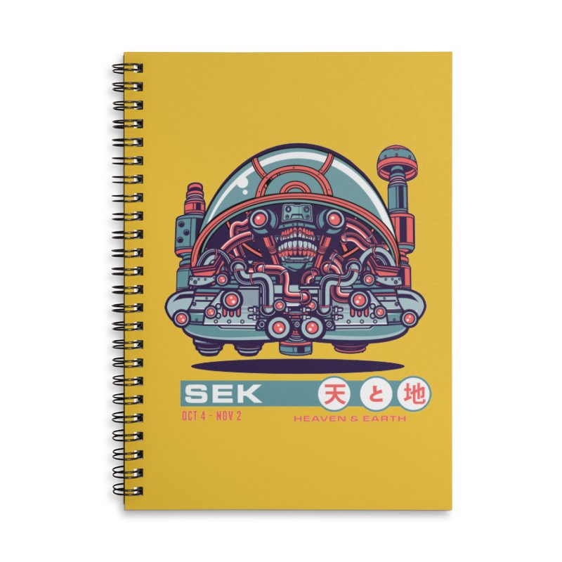 Mayan Zodiac- SEK Accessories Notebook by Jesse Philips' Artist Shop