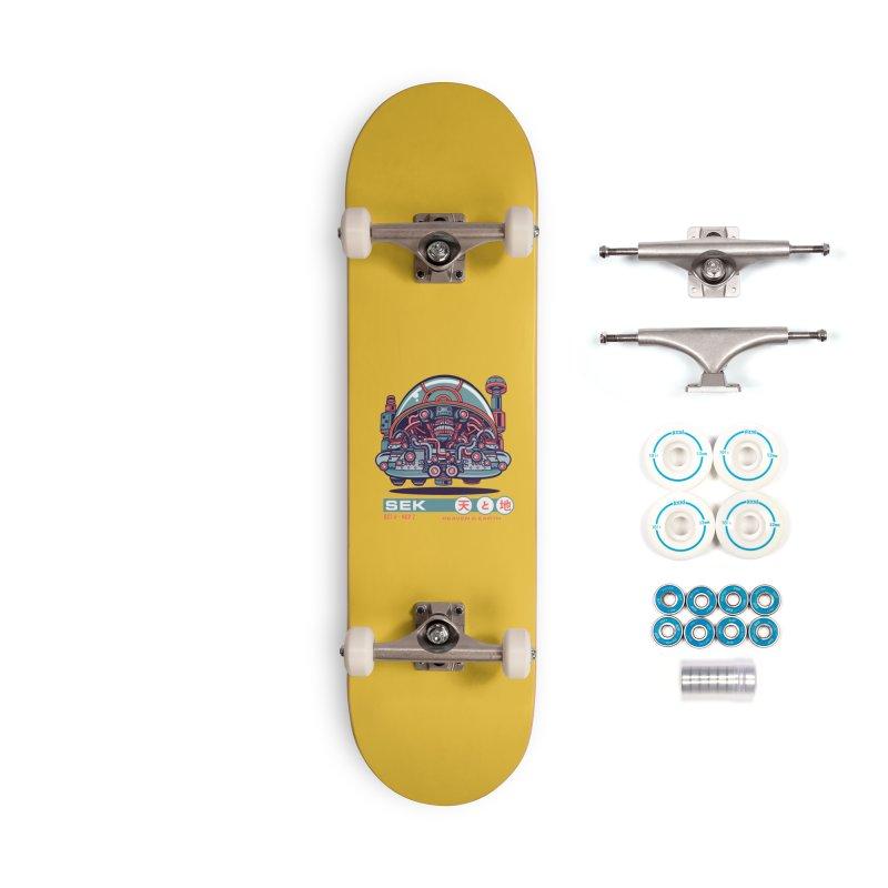 Mayan Zodiac- SEK Accessories Skateboard by Jesse Philips' Artist Shop