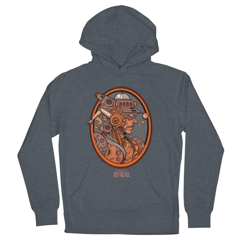 Ultra Magnetic Cameo Women's French Terry Pullover Hoody by Jesse Philips' Artist Shop