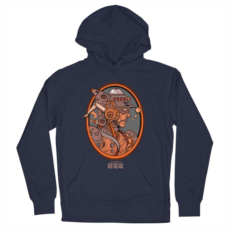Ultra Magnetic Cameo Men's French Terry Pullover Hoody by Jesse Philips' Artist Shop