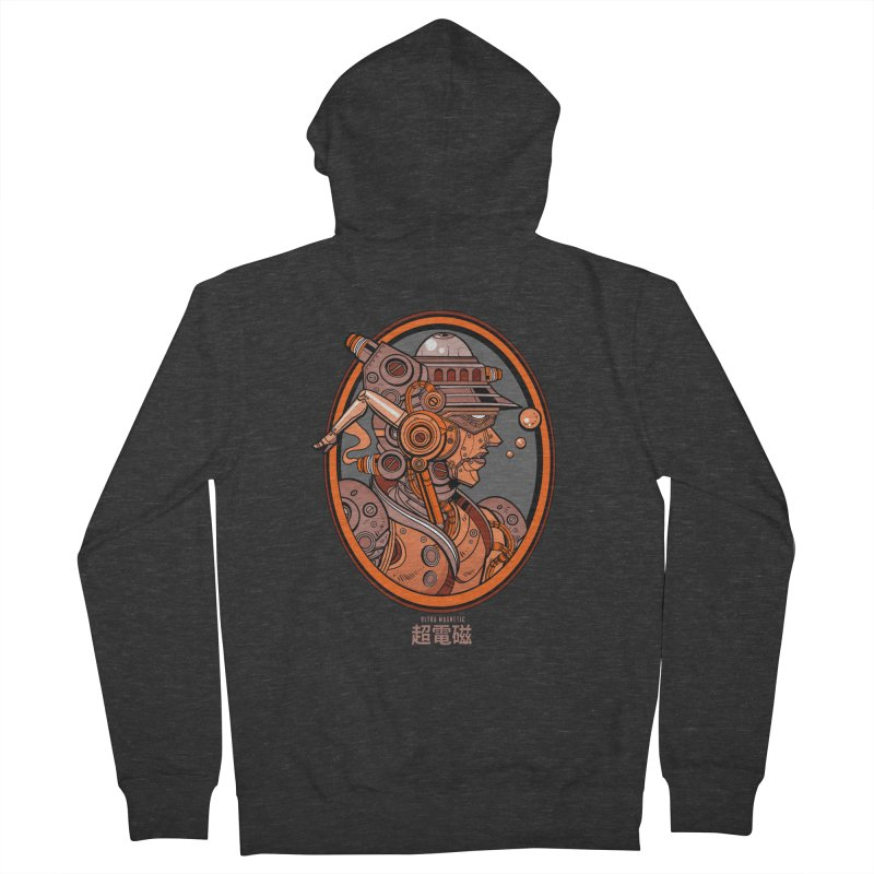 Ultra Magnetic Cameo Women's Zip-Up Hoody by Jesse Philips' Artist Shop