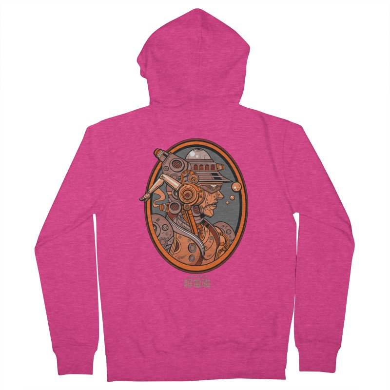 Ultra Magnetic Cameo Women's French Terry Zip-Up Hoody by Jesse Philips' Artist Shop