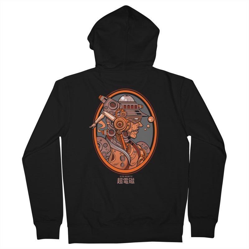 Ultra Magnetic Cameo Men's Zip-Up Hoody by Jesse Philips' Artist Shop