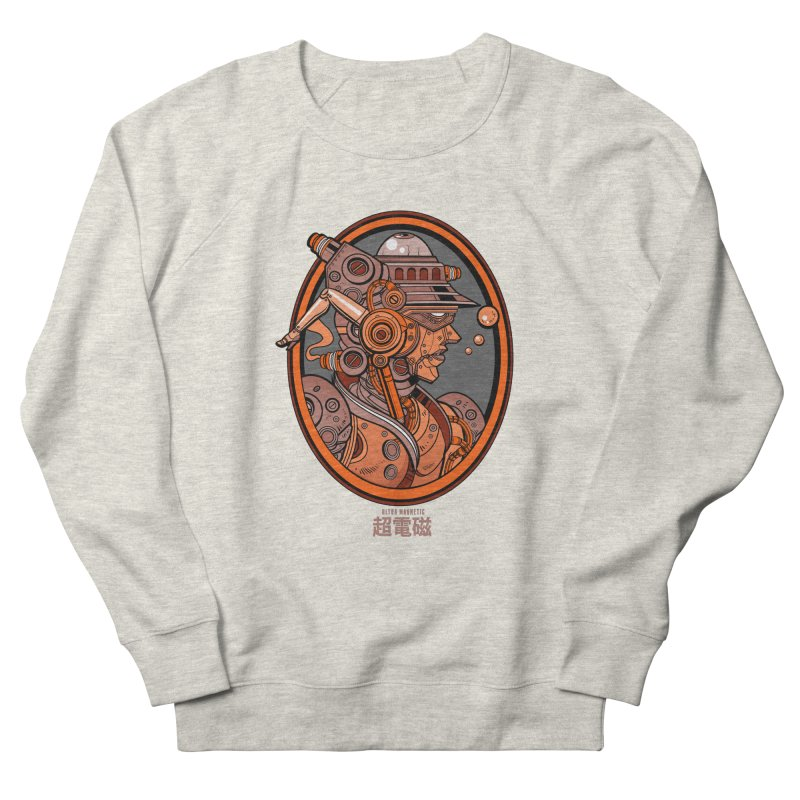 Ultra Magnetic Cameo Women's French Terry Sweatshirt by Jesse Philips' Artist Shop