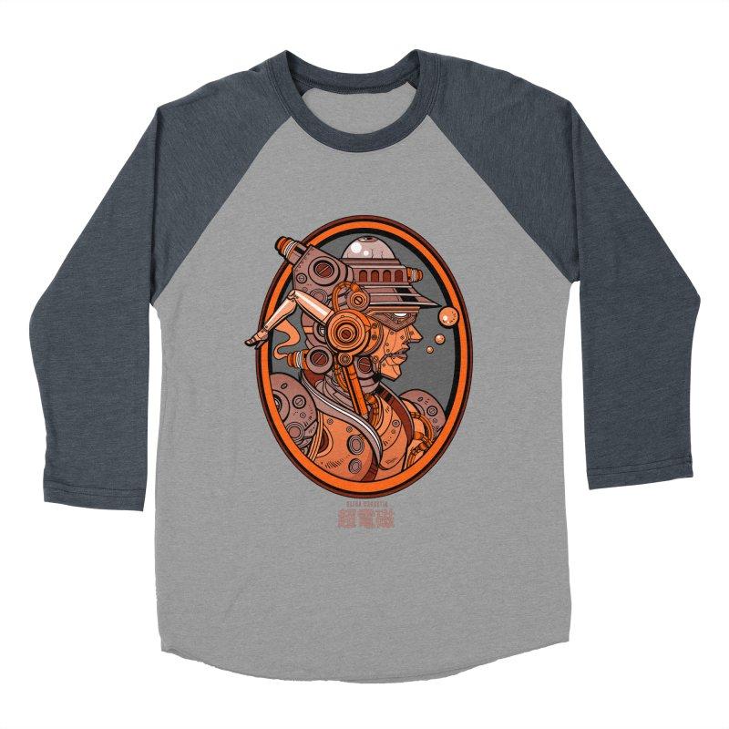 Ultra Magnetic Cameo Men's Baseball Triblend Longsleeve T-Shirt by Jesse Philips' Artist Shop
